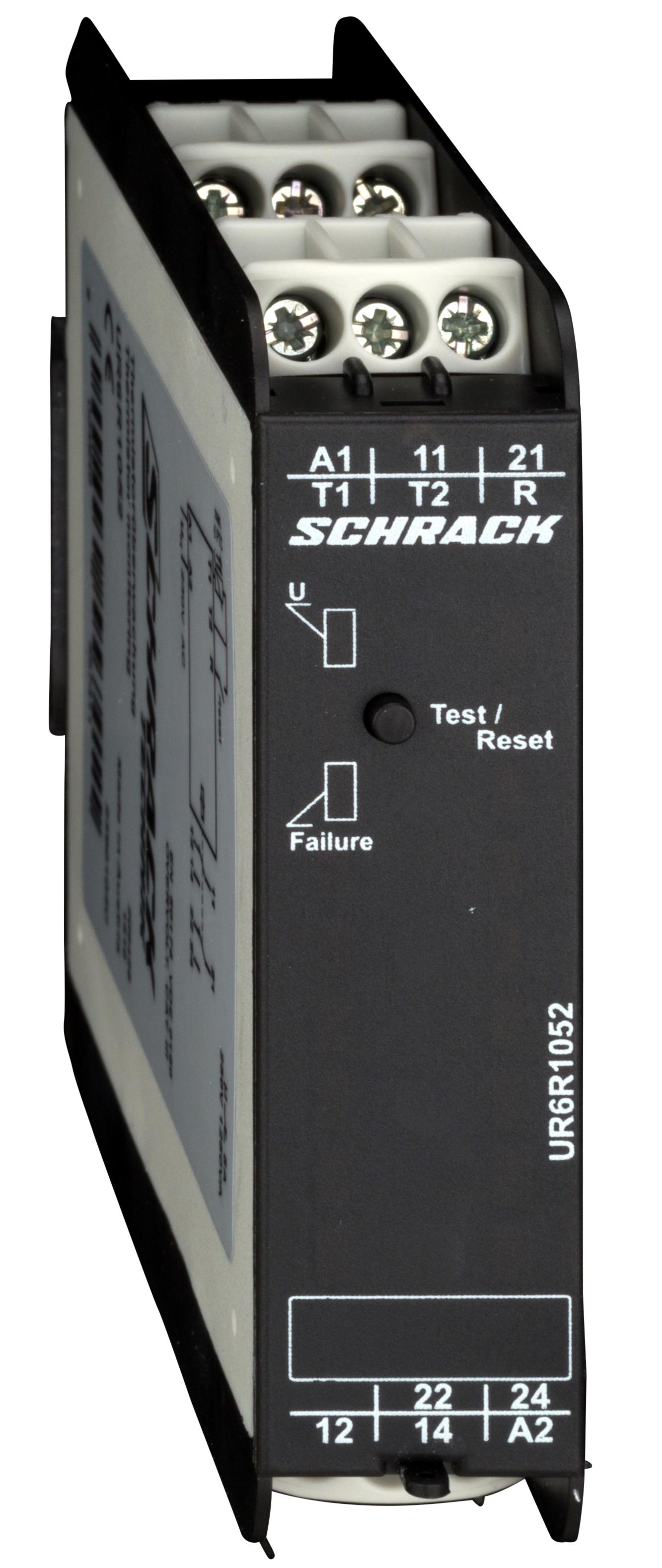 1 Stk Thermistorüberwachungsrelais 230V-AC, 2 Wechsler UR6R1052--