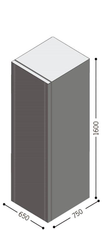 1 Stk Batteriebox für USSPH10ER 240V 40Ah (inkl. Batterien) USBB240B1-