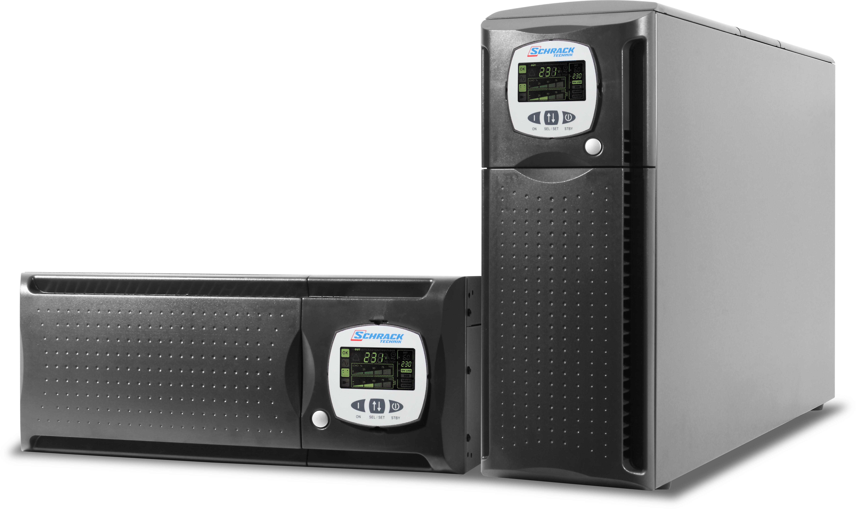 1 Stk USV GENIO Dual Maxi 8kVA 6,4kW 0 Min 3/1 phasig / Online USDD800TM0