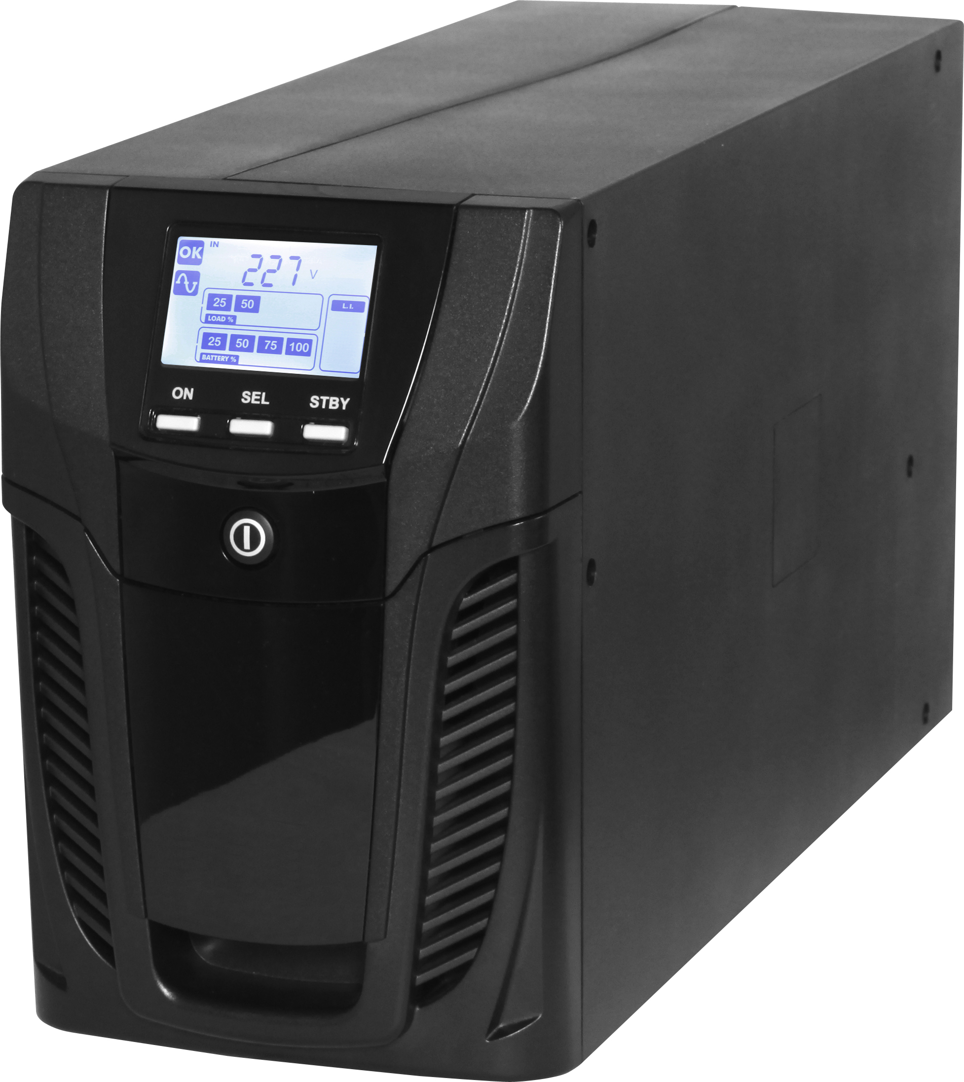 1 Stk USV GENIO Flex Plus Tower 1500VA 1200W 5 Min 1/1ph/Line-Int. USDVT150A-