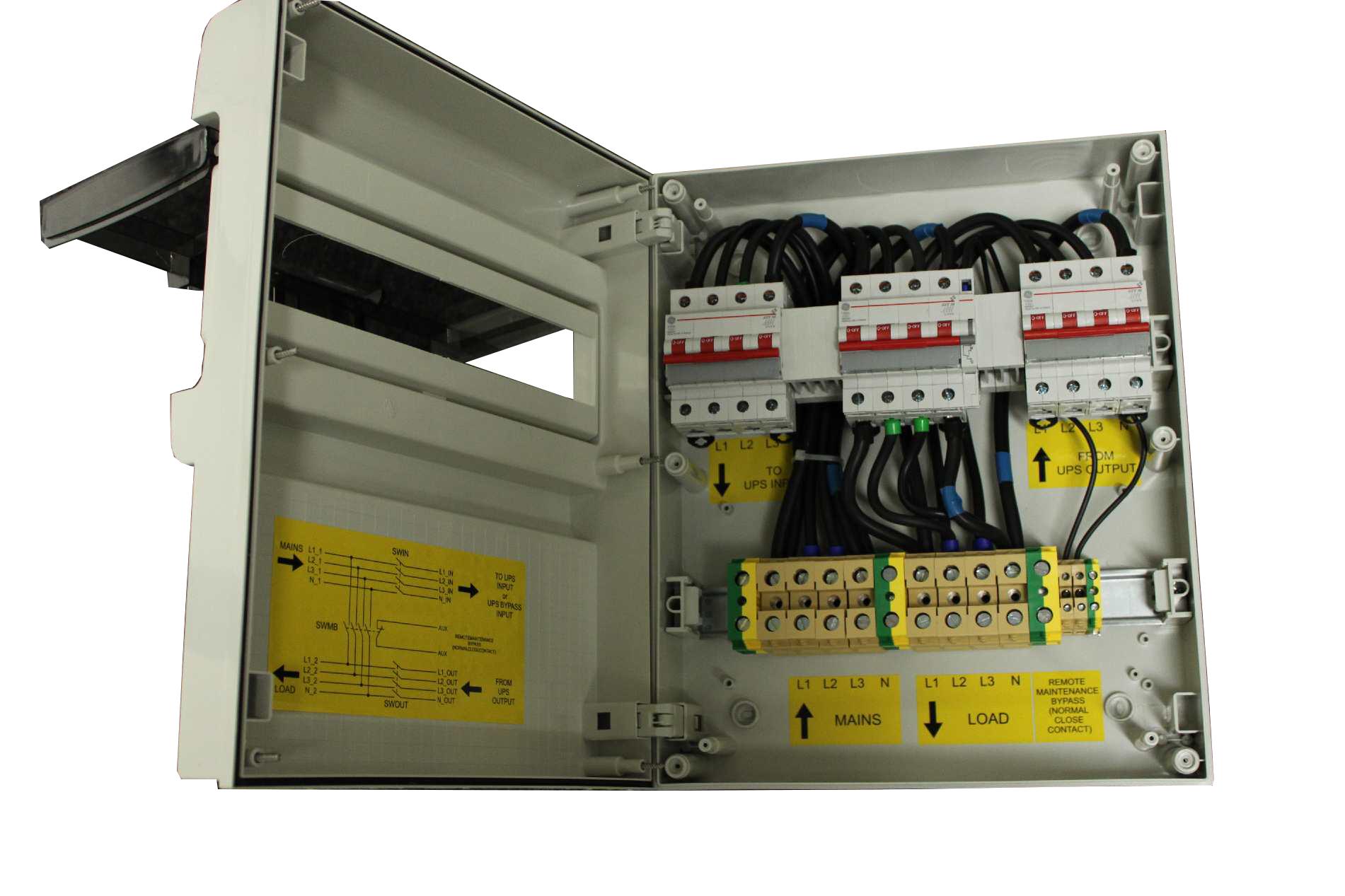 1 Stk Wartungsbypass dreiphasig 125A (bis 60kVA dreiphasige USV) USMBB125--
