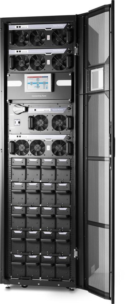 1 Stk AVARA Multi Power USV Schrank max. 3x25kW/ 3x42kW, 5 BF USMPWCB130