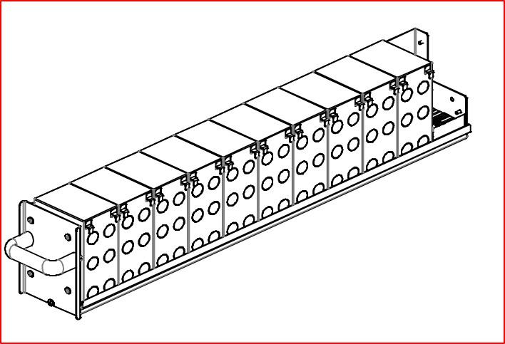 1 Stk AVARA Multi Power Batterie-Einschub 10x9Ah USMPWSBU--