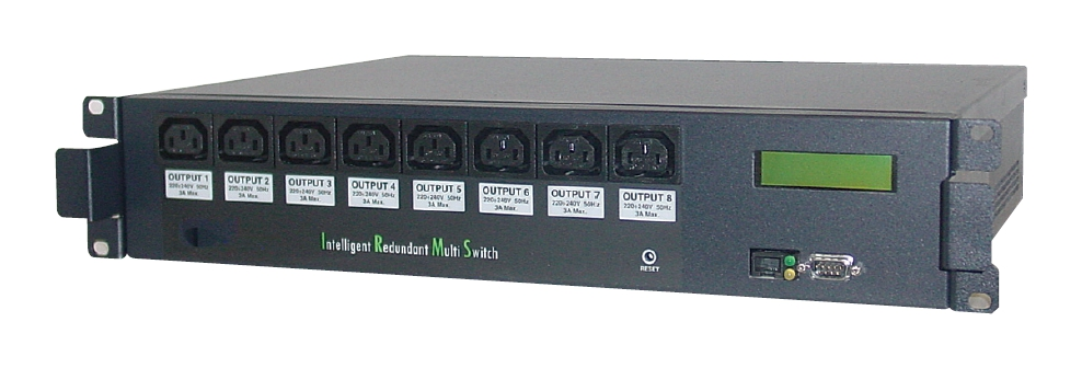 1 Stk Multi Switch 16A 3300VA 2 Eing. / 8 Ausgange 4A - RS232 USMSS-----