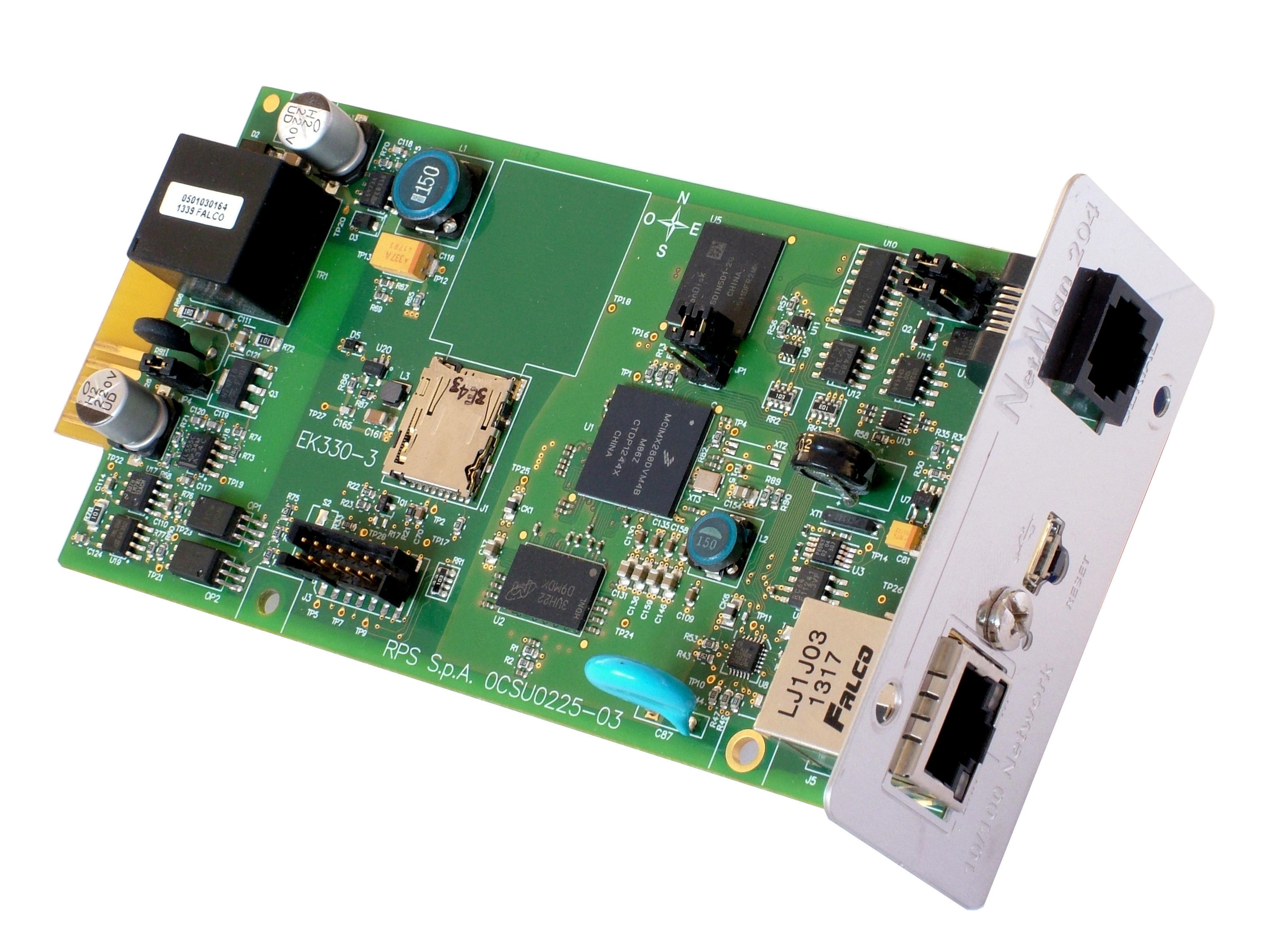 1 Stk Einschubkarte um USV an IP-Netzwerk anzuschließen (SNMP-Ad.) USNETMA204