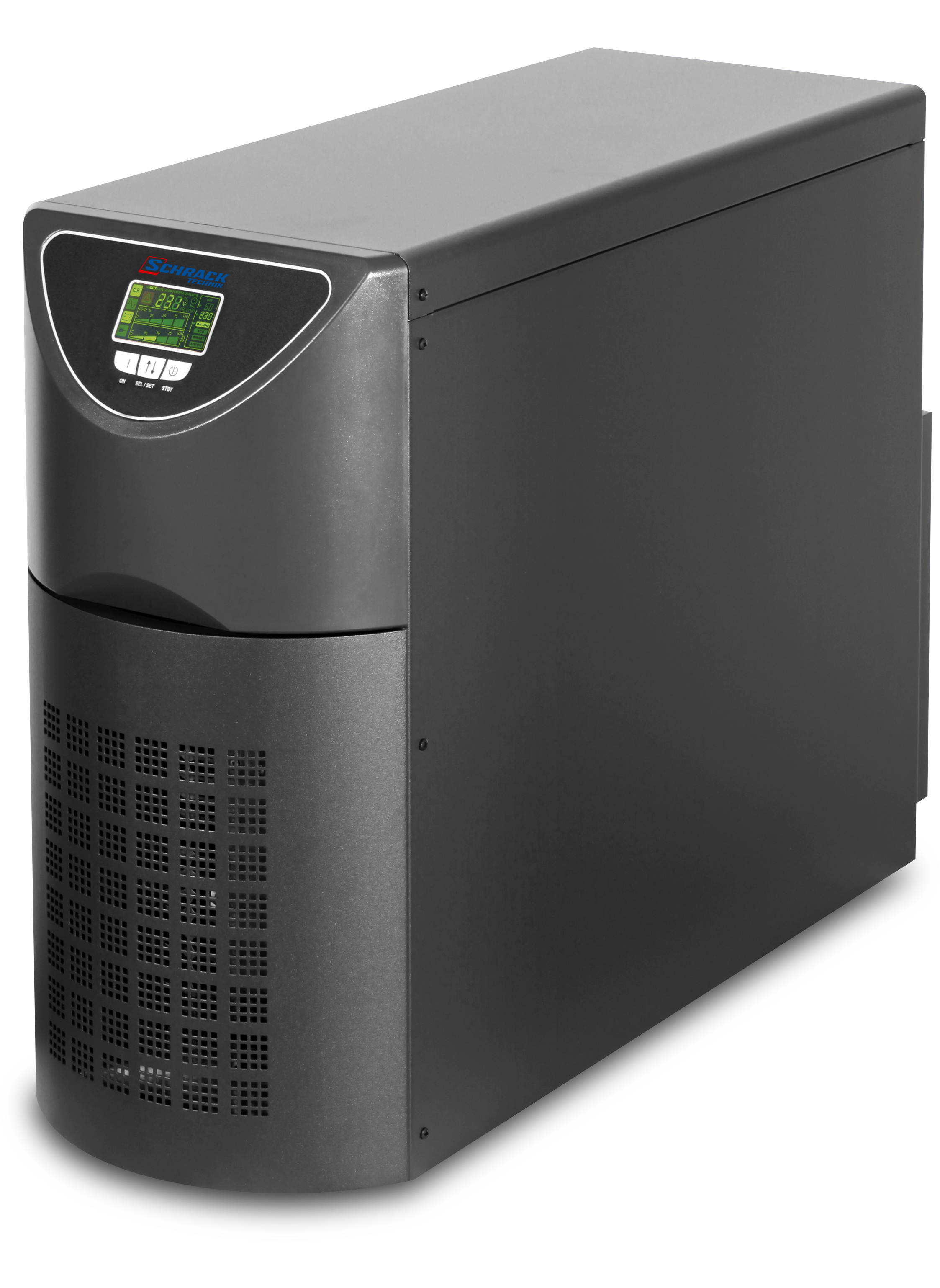 1 Stk USV GENIO Maxi 8kVA 6,4kW 8Min.3ph/1ph, 1ph/1ph/ Online USPW800---