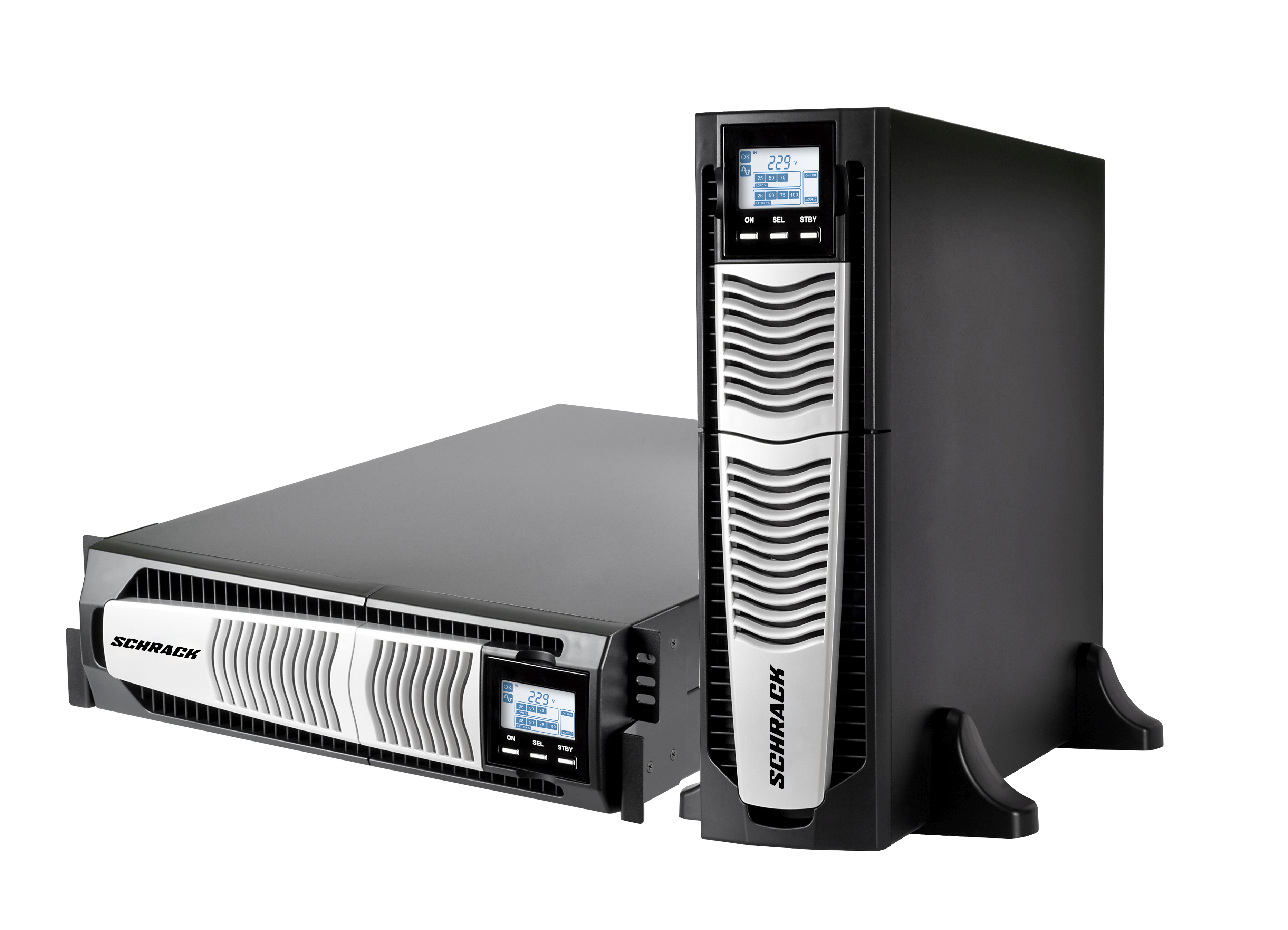 1 Stk USV GENIO Dual Power 5kVA 5kW 8Min. 1/1 phasig / Online USSD500PD-