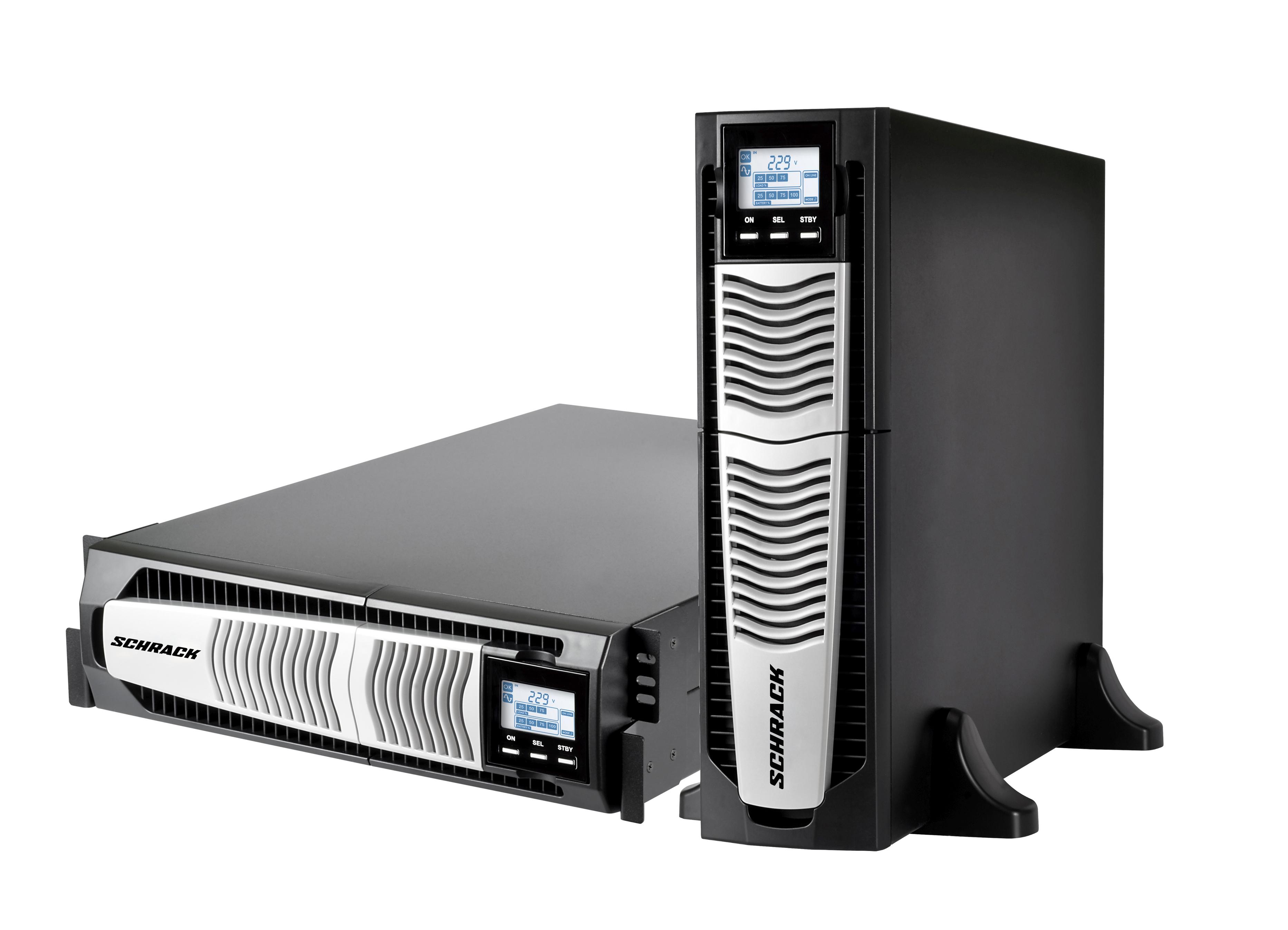 1 Stk USV GENIO Dual Power 6kVA 6kW 5Min. 1/1 phasig / Online USSD600PD-