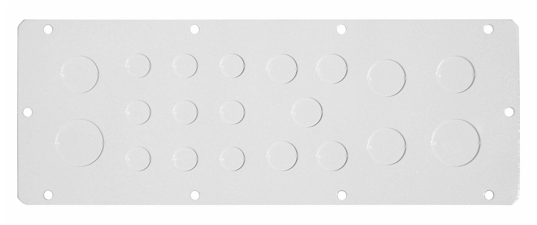 1 Stk Flansch 310x96, Ausprägung 9XM16, 4xM20, 2xM25, 2xM32 WSFA0002--