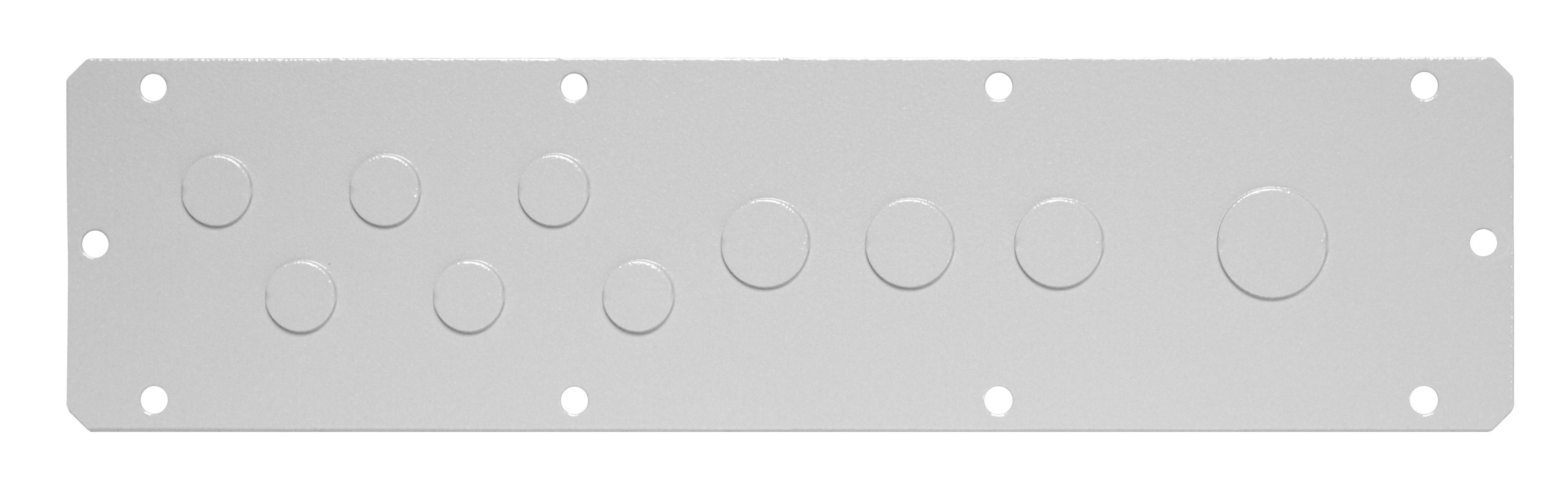 1 Stk Flansch 310x56, Ausprägung 6xM16, 3xM20, 1xM25 WSFA0021--