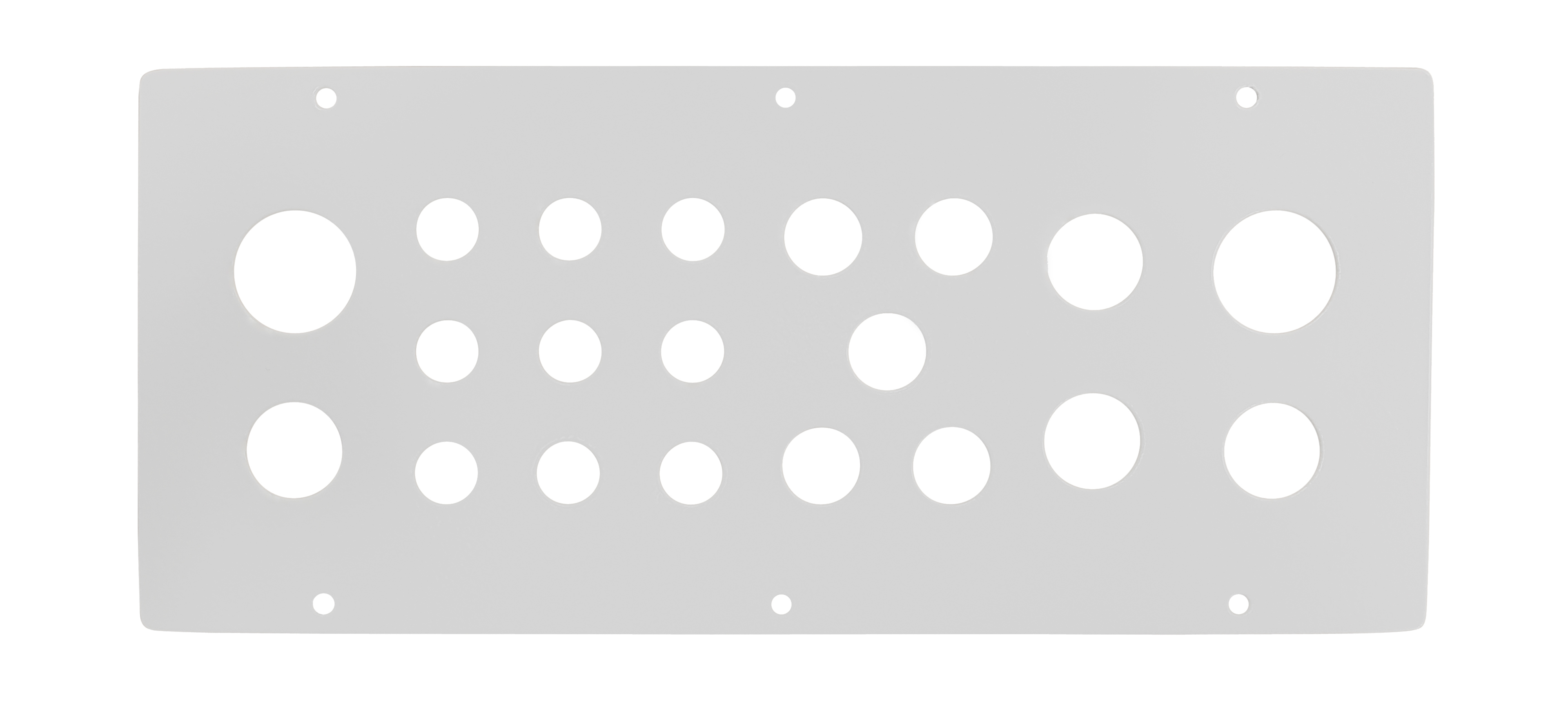1 Stk Kabeleinführungsflansch WST mit 9xM16, 5xM20, 4xM25, 2xM32 WSTFA0D1--