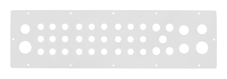 1 Stk Kabeleinführungsflansch WST mit 27xM16, 5xM20, 4xM25, 2xM32 WSTFA0F1--