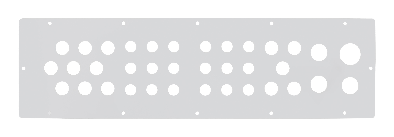 1 Stk Kabeleinführungsflansch WST mit 18xM16, 14xM20, 3xM25, 1xM32 WSTFA0F2--
