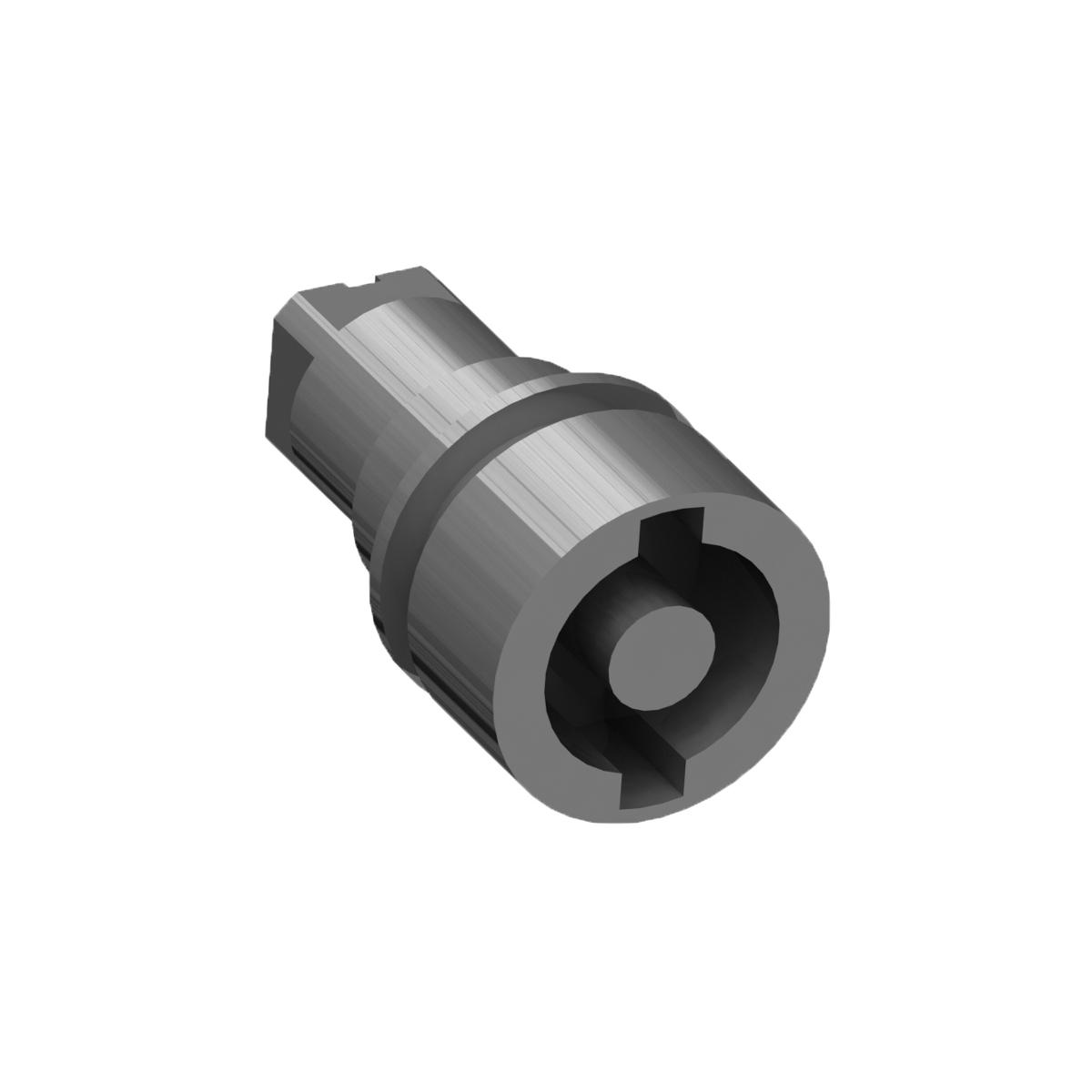 1 Stk Doppelbart-Einsatz 5mm für WST-Vorreiber WSTL3535--