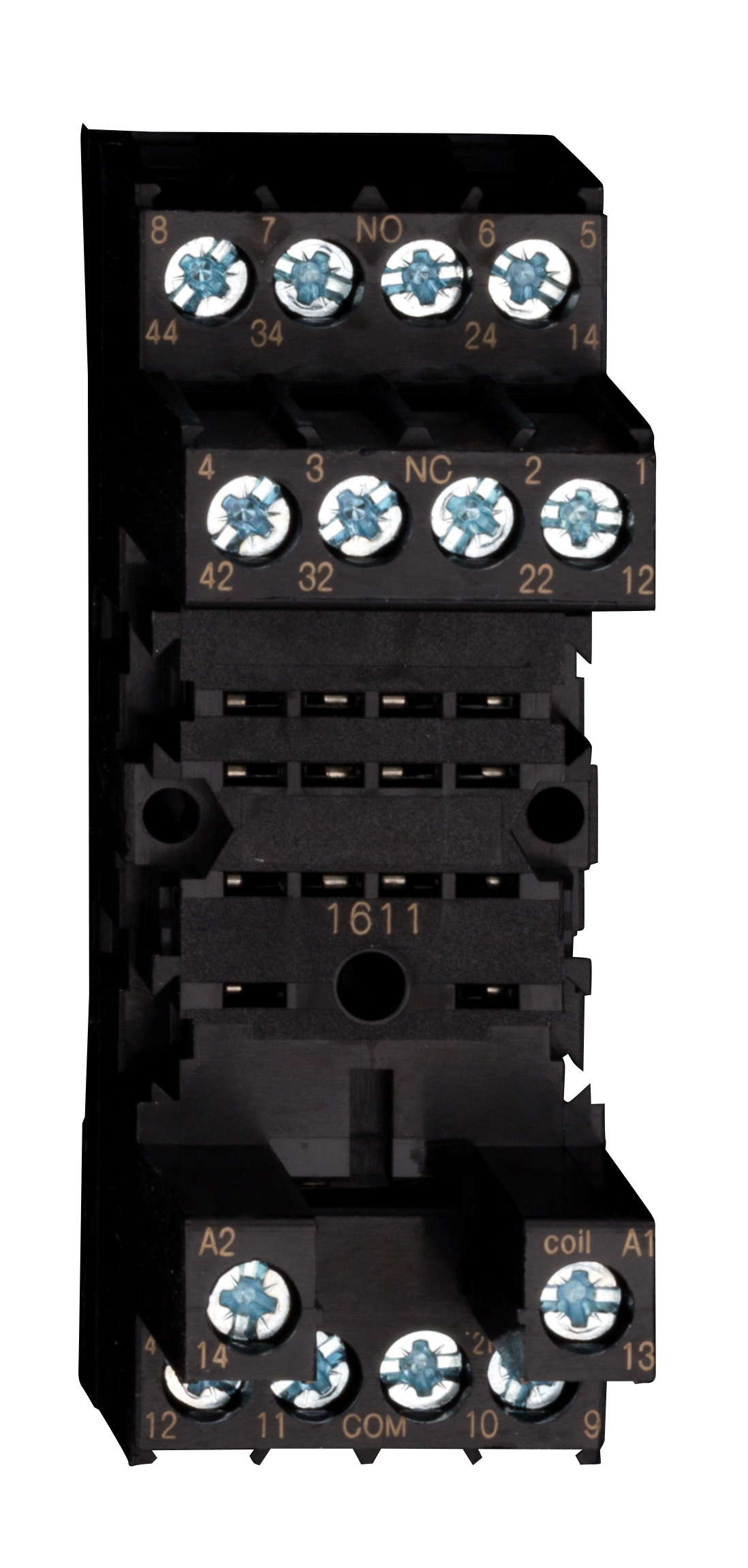 1 Stk DIN-Schienenfassung für PT5-Relais, 14-polig, 6A YPT78704--