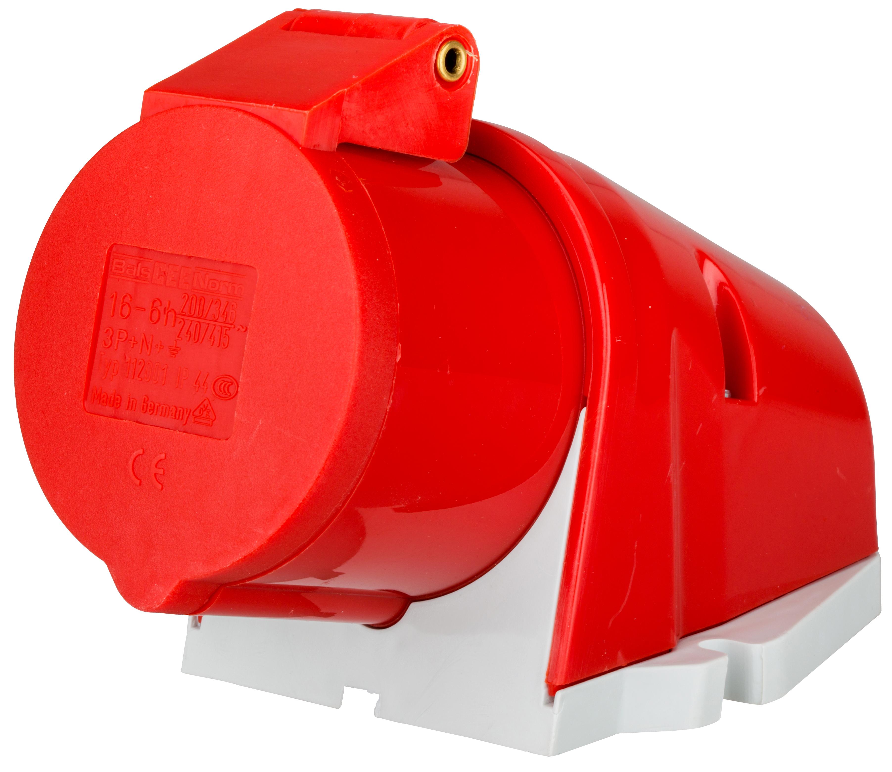 1 Stk CEE-Wandsteckdose 5x16A, Schneidklemmtechnik YY503516--