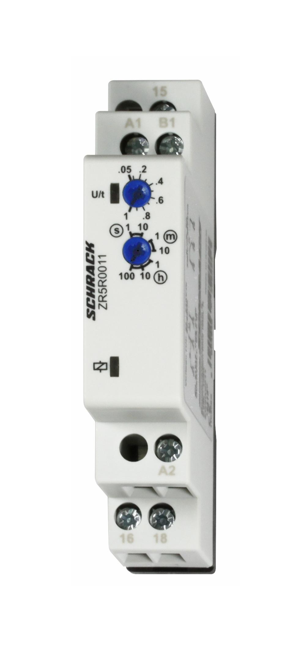 1 Stk Monofunktionsrelais rfv., 24-240V AC/DC, 1 Wechsler, 8A/250V ZR5R0011--