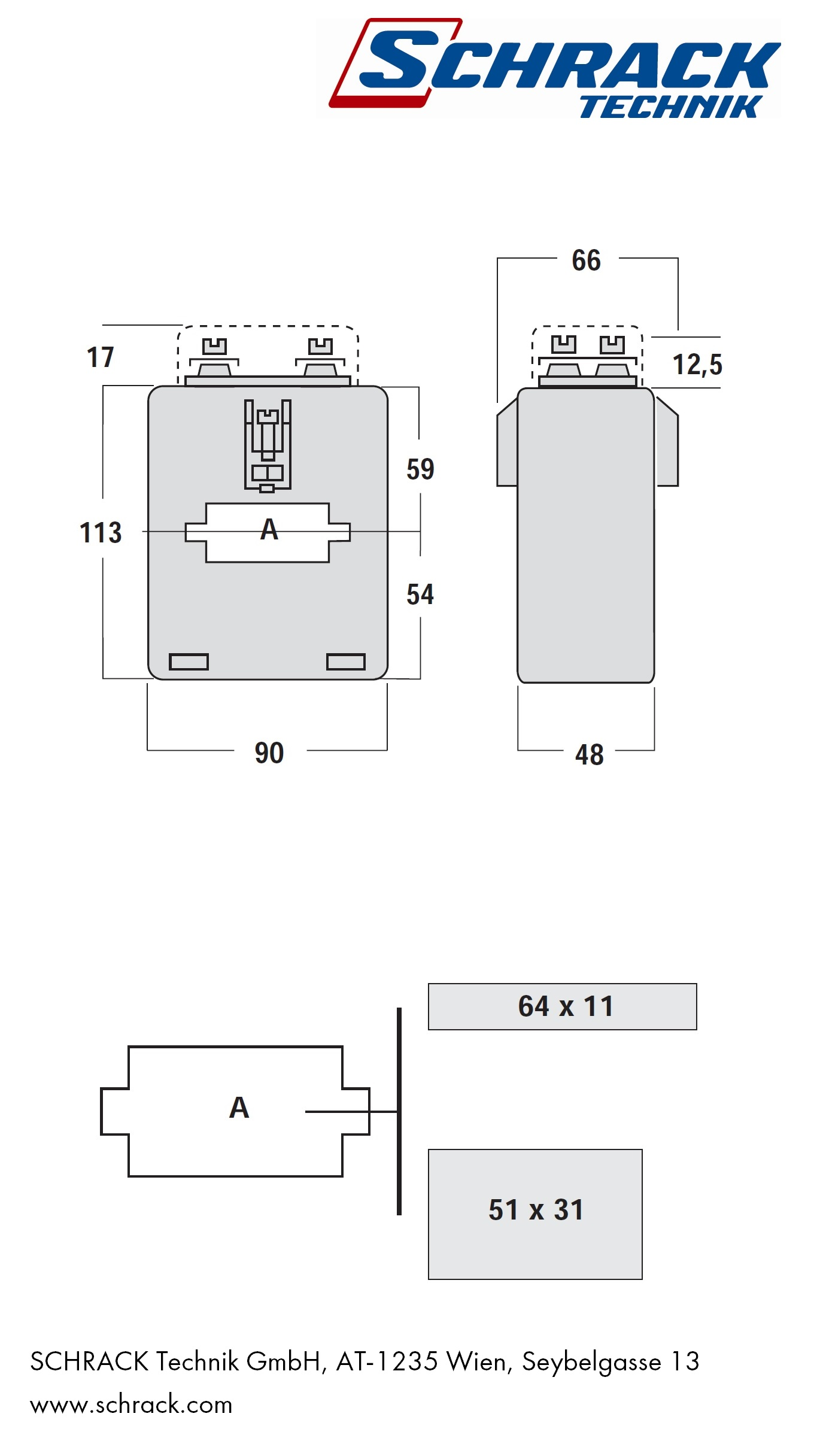 Current Transformer 600a 5a 50x20mm Emall Australia Instrument Wiring Diagram Cad File