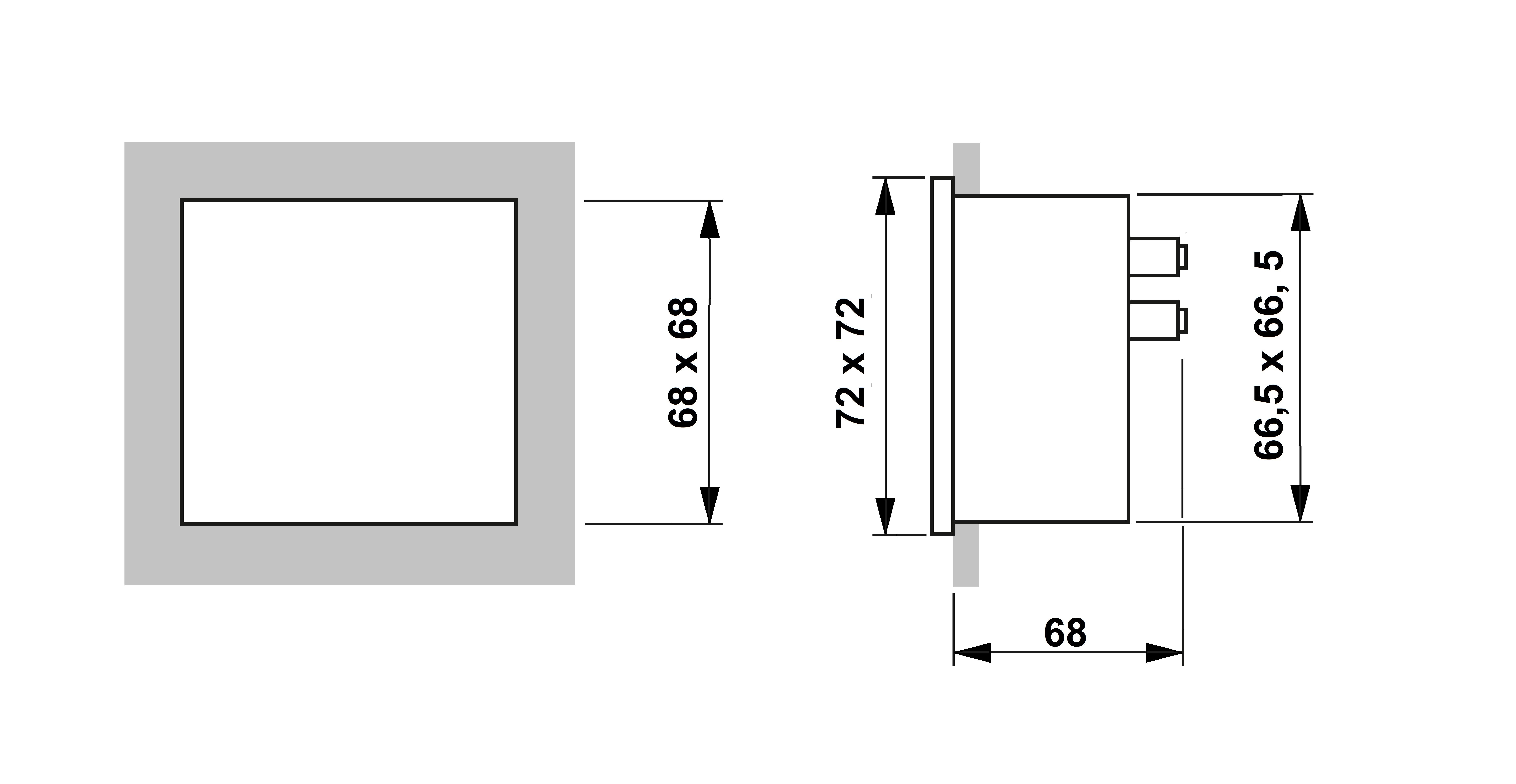 Voltmeter 72x72mm 30 Vdc Emall Australia Schematic Cad File