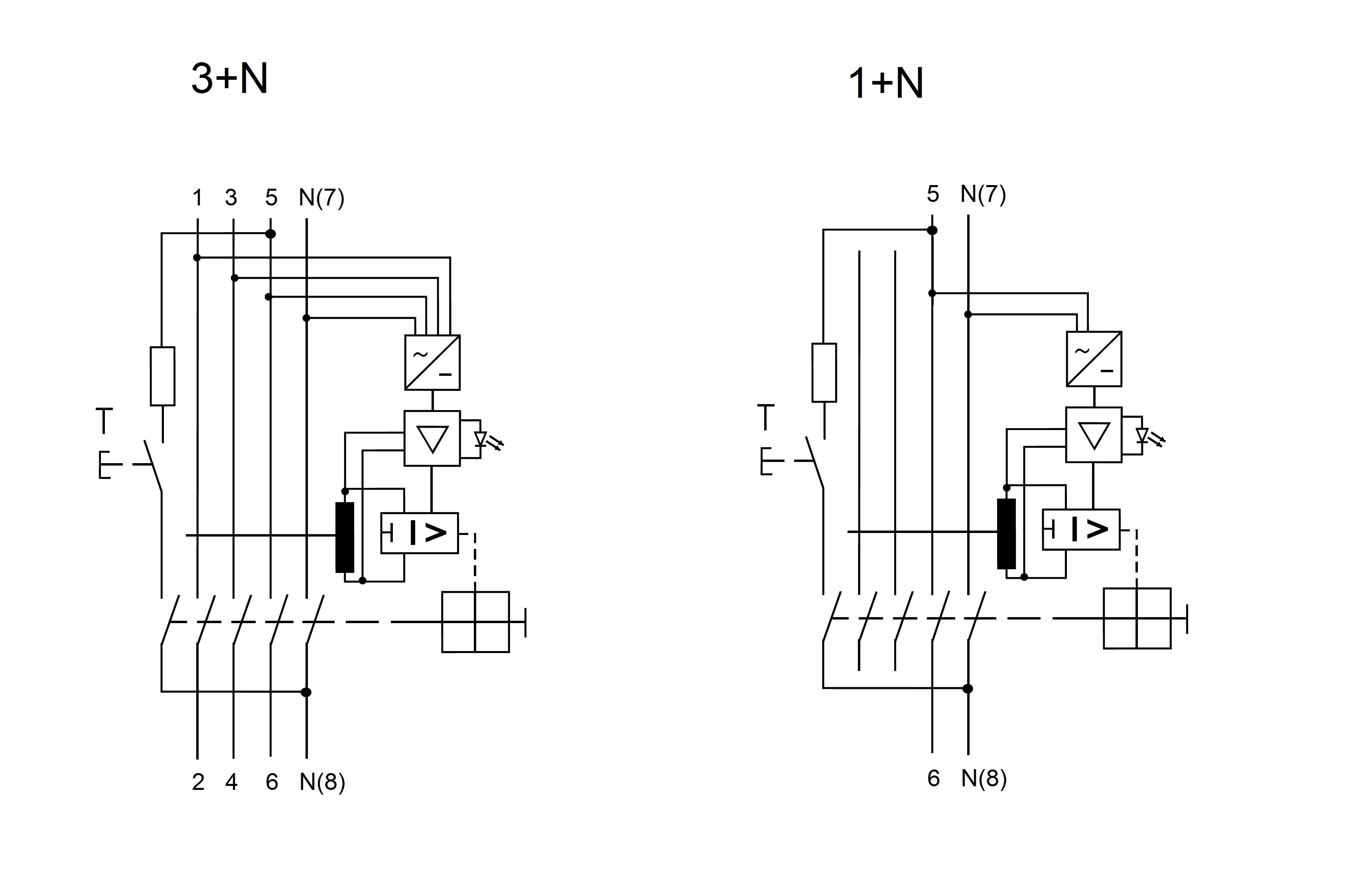 elektro austria allstromsensitiver fi schalter 63a 4. Black Bedroom Furniture Sets. Home Design Ideas