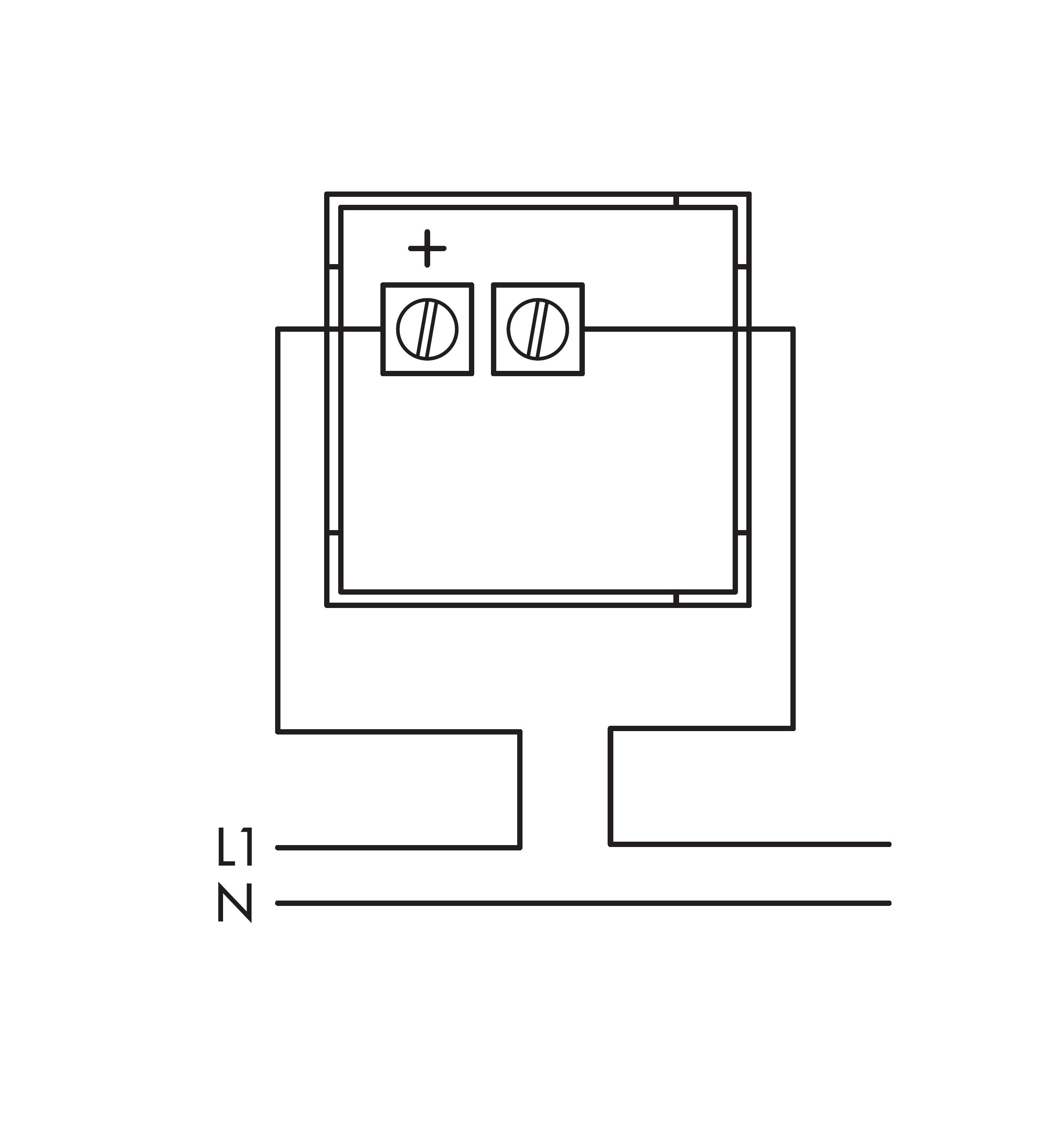 Modular ammeter, 10A-AC, direct, ogue on